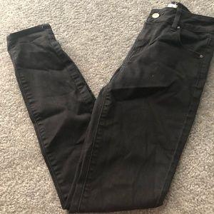 Black Mid rise Jeans